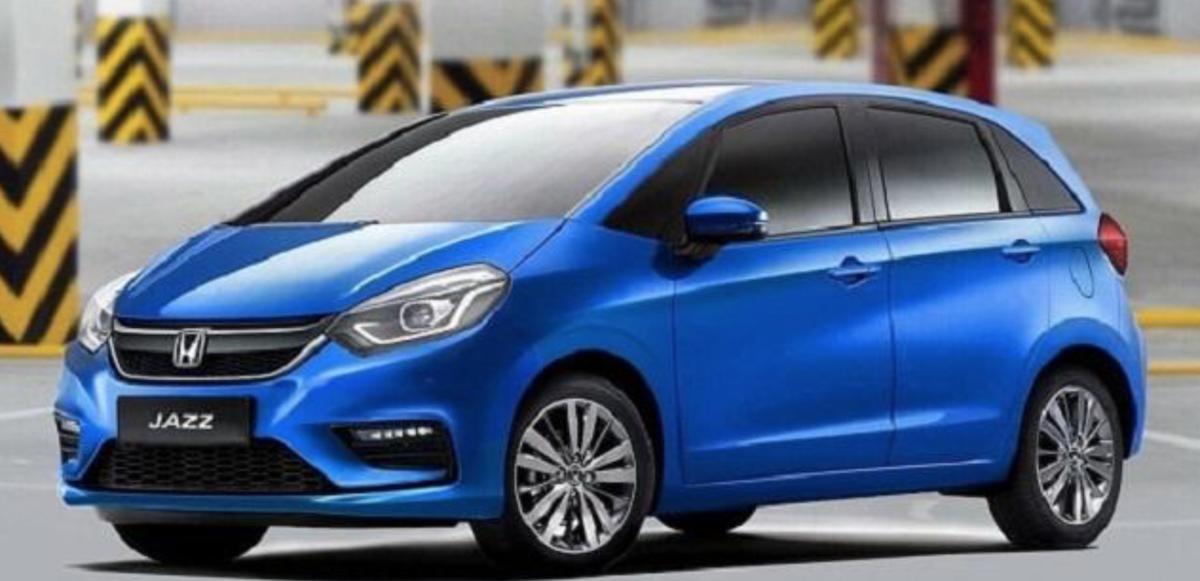 新一代 Honda Fit(日本稱為 Jazz)最新預想圖曝光,尤其是頭燈組部分,造型跟內部 LED 燈條,對比前文的測試車,差異已算微乎其微。