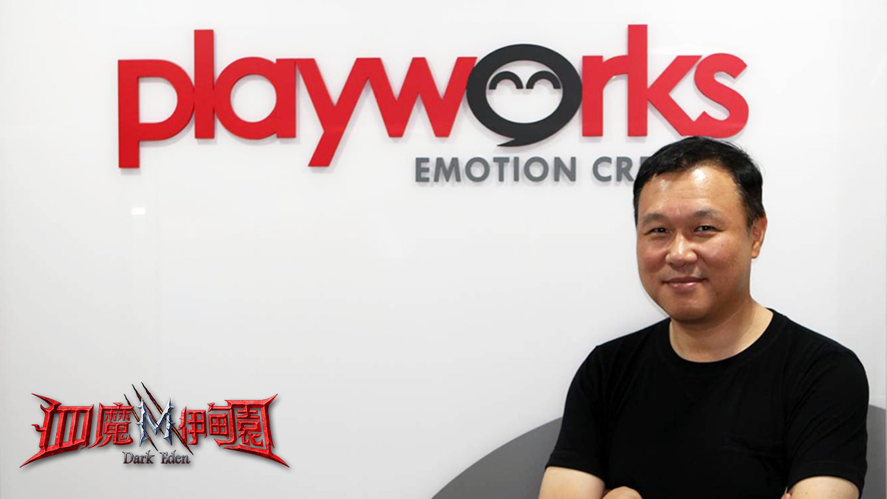 ▲Playworks Corp. 創辦人暨執行長KIM KWANG YEOL總經理對台灣市場充滿期待