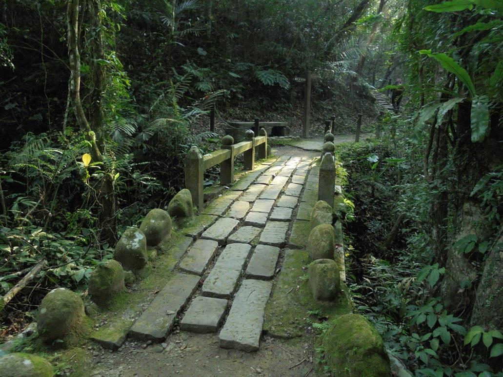水濂橋步道隸屬於獅頭山風景區,途中會經過一座擁有百年歷史的糯米橋。圖/參山國家風景區管理處