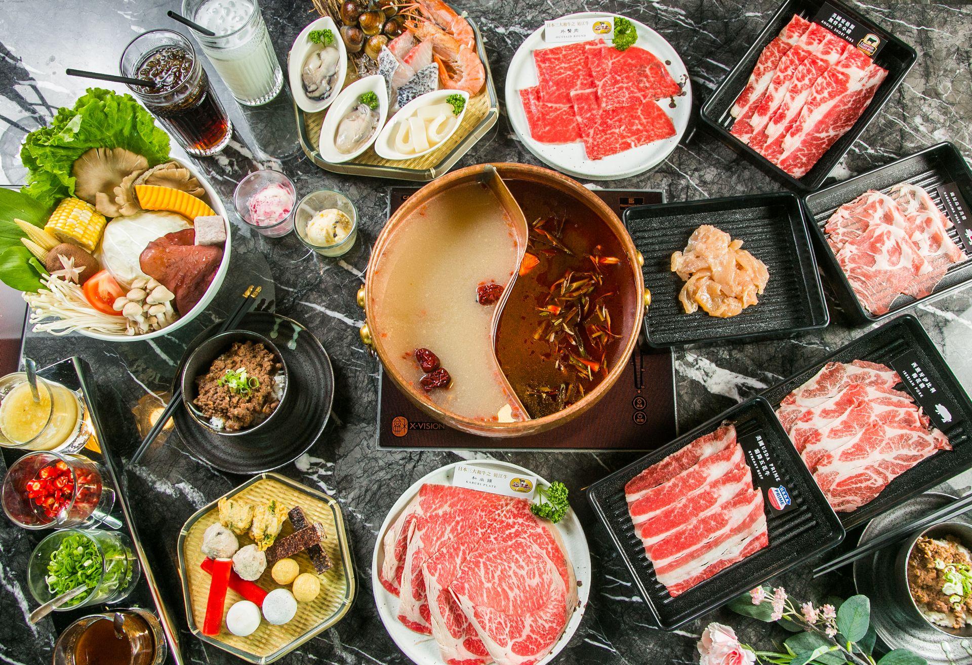 Beef King供應琳瑯滿目的A5和牛和多種肉品選擇。