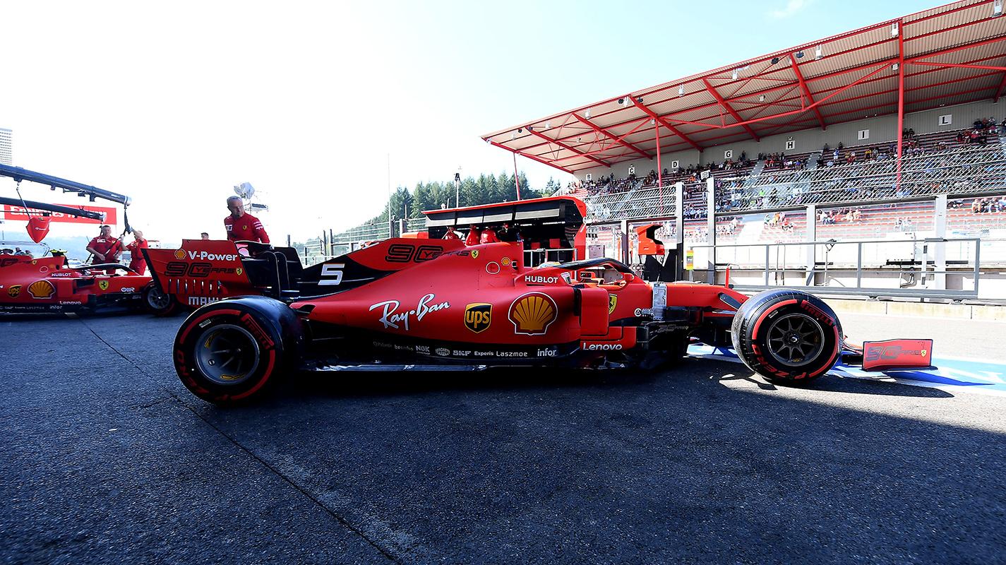 比利時GP自由練習一Ferrari車手強勢