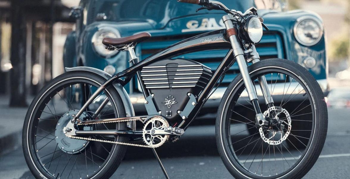 圖/Vintage Electric Roadster電動自行車擁有不錯性能,雖然要價近21萬台幣,但對於嚮往復古摩托車精神的騎士來說絕對不是問題。