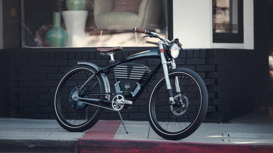 圖/來自Vintage Electric品牌的Roadster兼具時尚與性能,為旗下最高檔的電動自行車。