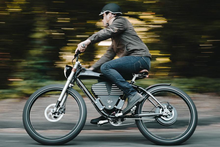 圖/兼具時尚與性能,Vintage Electric Roadster電動自行車續航力120公里。