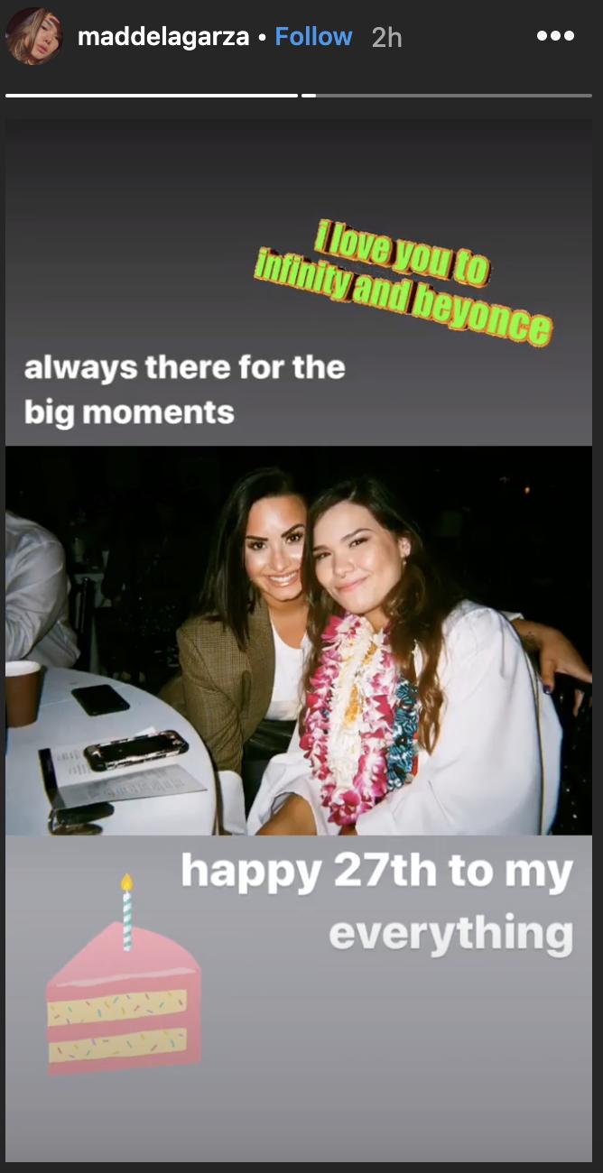 (Screenshot: Madison De La Garza via Instagram)