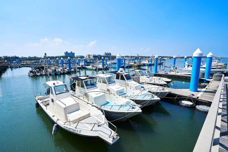 漁港繫船柱重整 (圖片來源:新竹市政府)