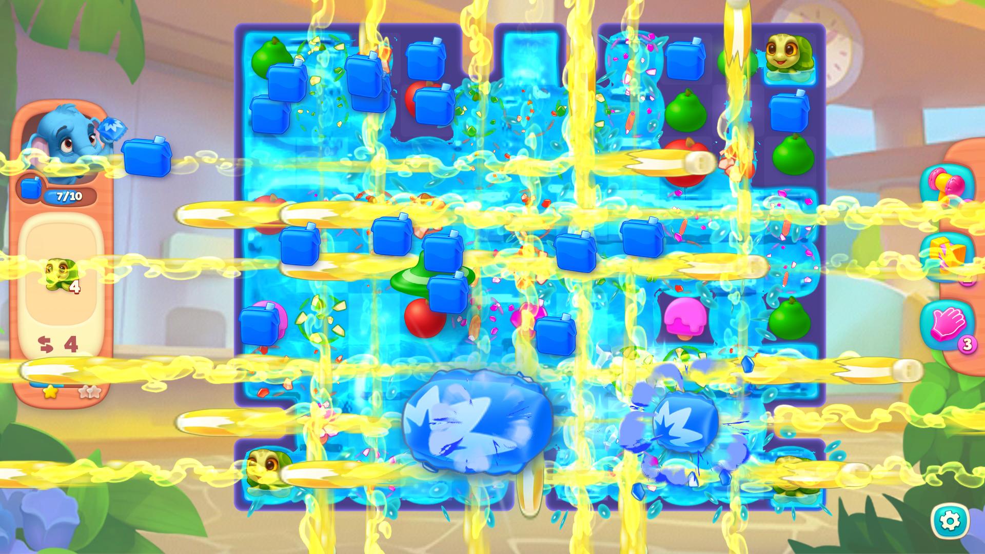 全畫面衝擊波 一次消除所有方塊