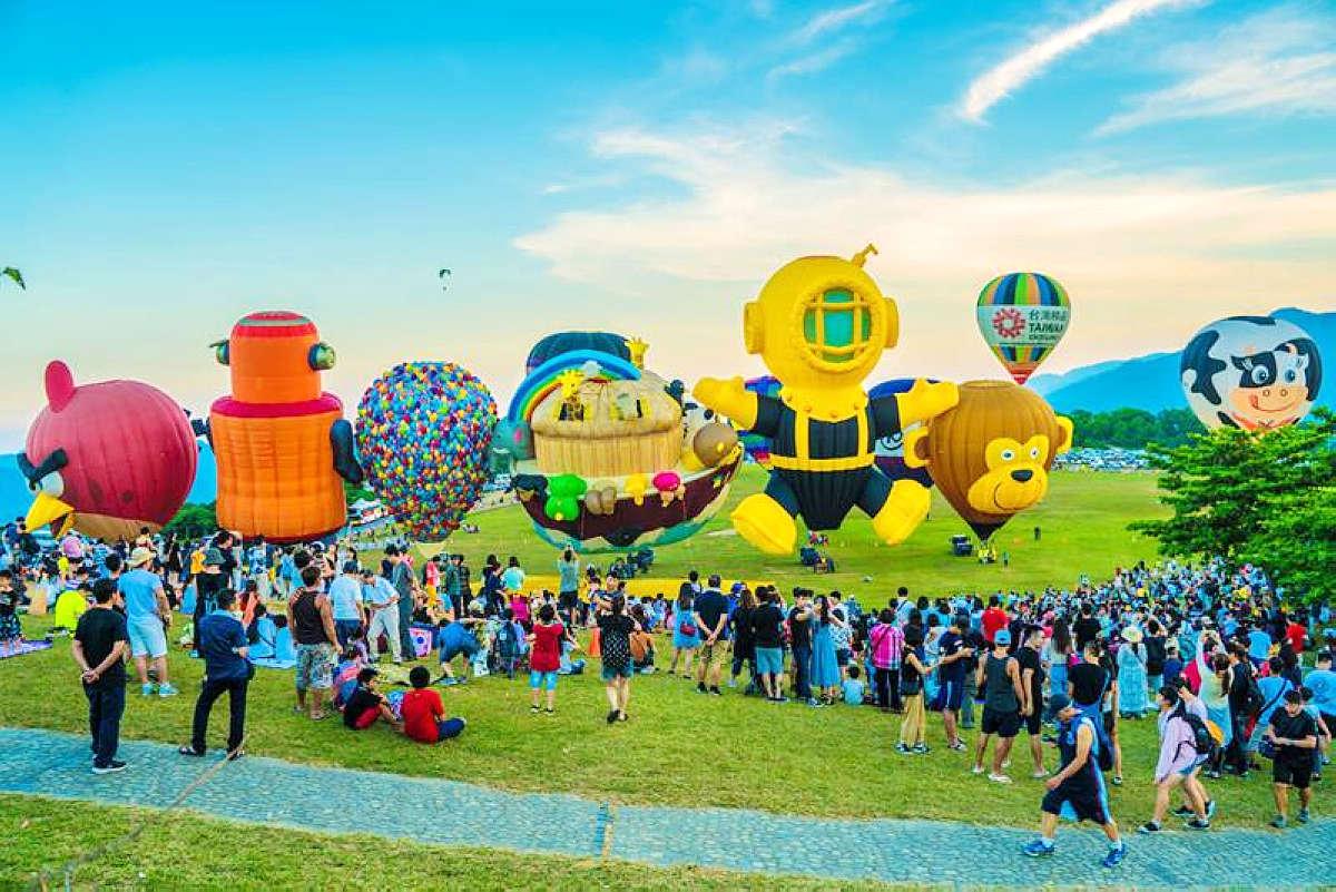 臺灣國際熱氣球嘉年華 (圖片來源:交通部觀光局)