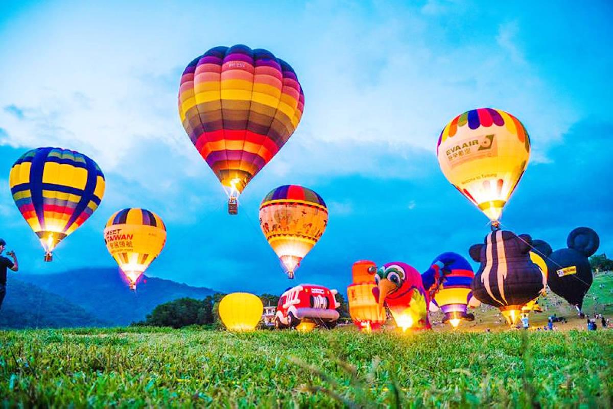 台東熱氣球 (圖片來源:交通部觀光局)