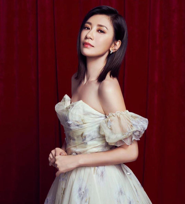 賈靜雯是演藝圈的幸福女神代表。
