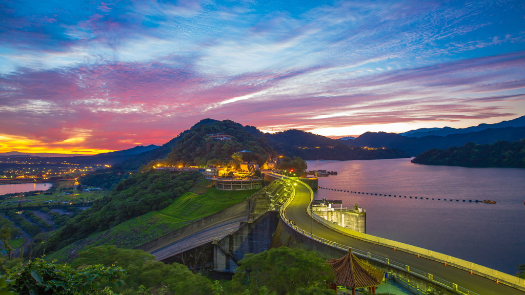 石門水庫 (圖片來源:桃園觀光導覽網)