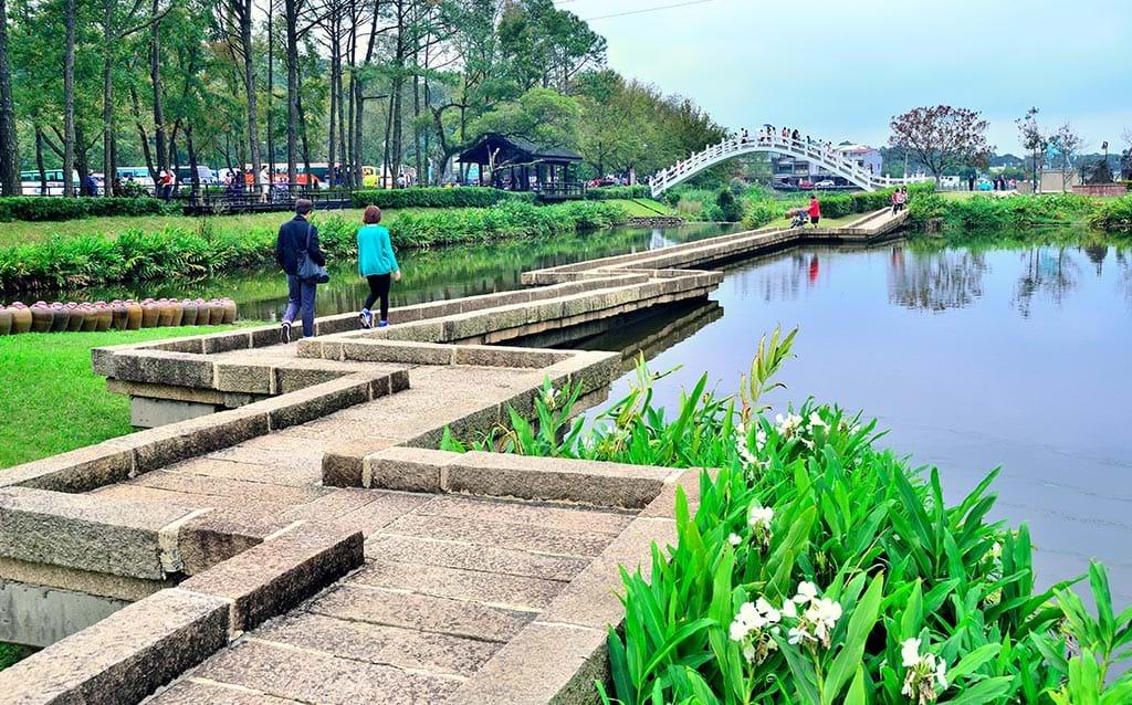 慈湖水漾廣場 (圖片來源:桃園觀光導覽網)