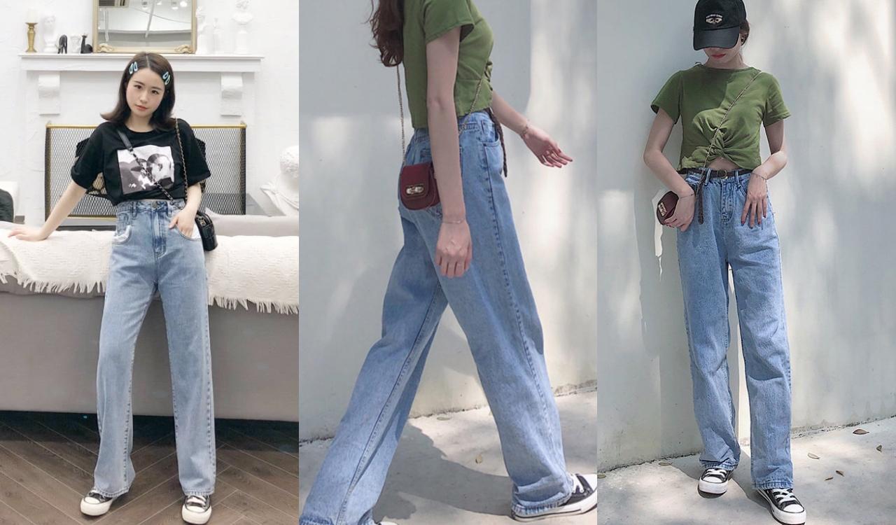 胖胖腿、梨形臀全部遮光光!女孩必學『下半身視覺-3kg』的丹寧穿搭技巧