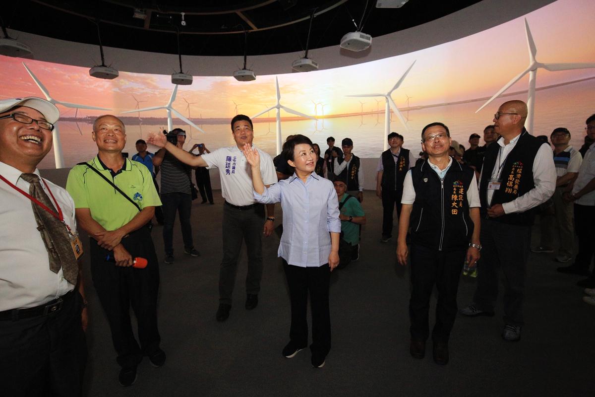 體驗360度環形劇場 (圖片來源:台中市政府)