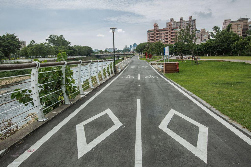 南崁溪自行車道全長15公里,融合自然地景、生態資源。圖/桃園觀光導覽網