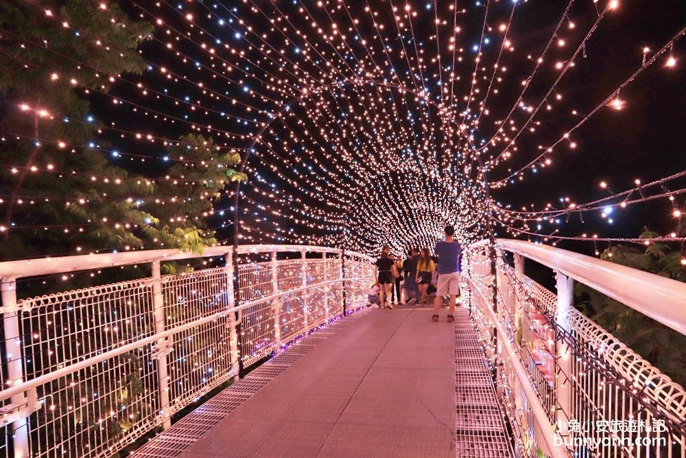 八卦山天空步道(幸福鵲橋)確定延長到8月底,周末加碼推出接駁專車。圖/駐站達人-小兔小安旅遊札記