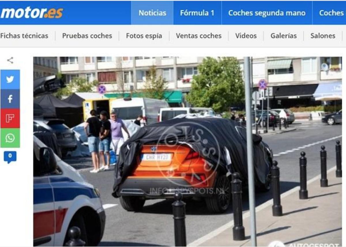 車尾變化主要針對下擾流進行修改。(圖片來自外媒《Motor.es》。)