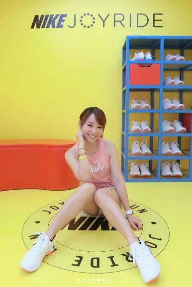 呂佳宜體驗Nike Joyride Run Flyknit