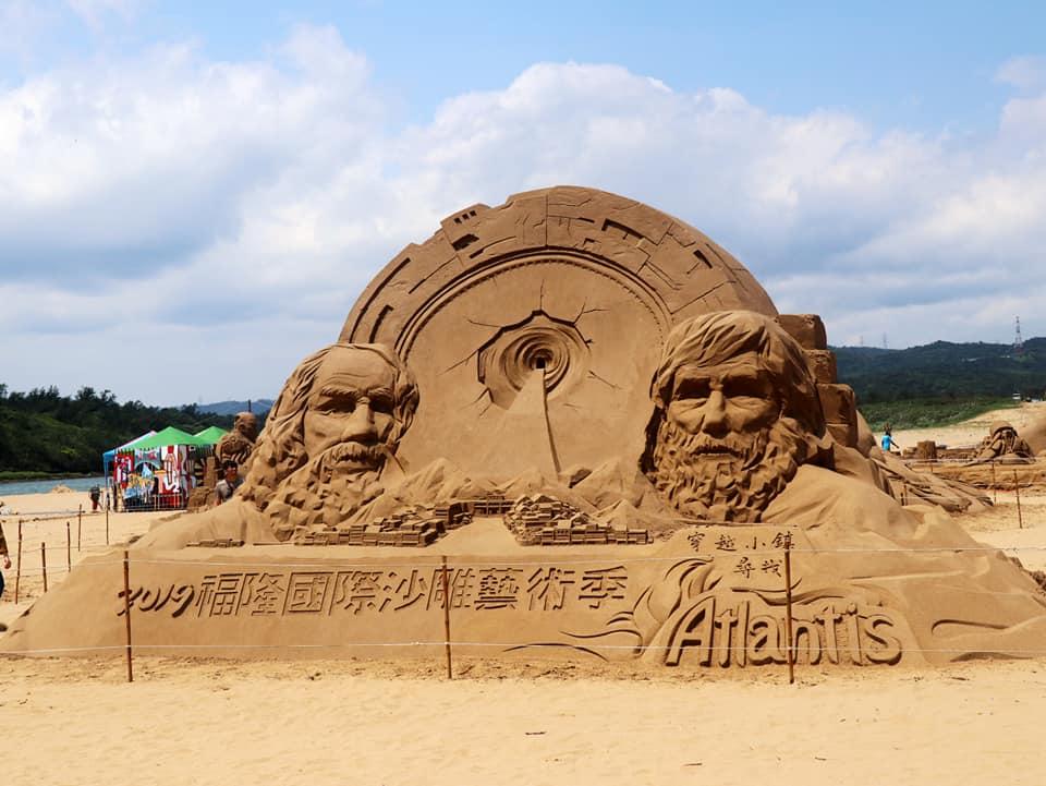 福隆沙雕季邁入第十二屆,引爆盛夏海灘話題。圖/東北角暨宜蘭海岸國家風景區