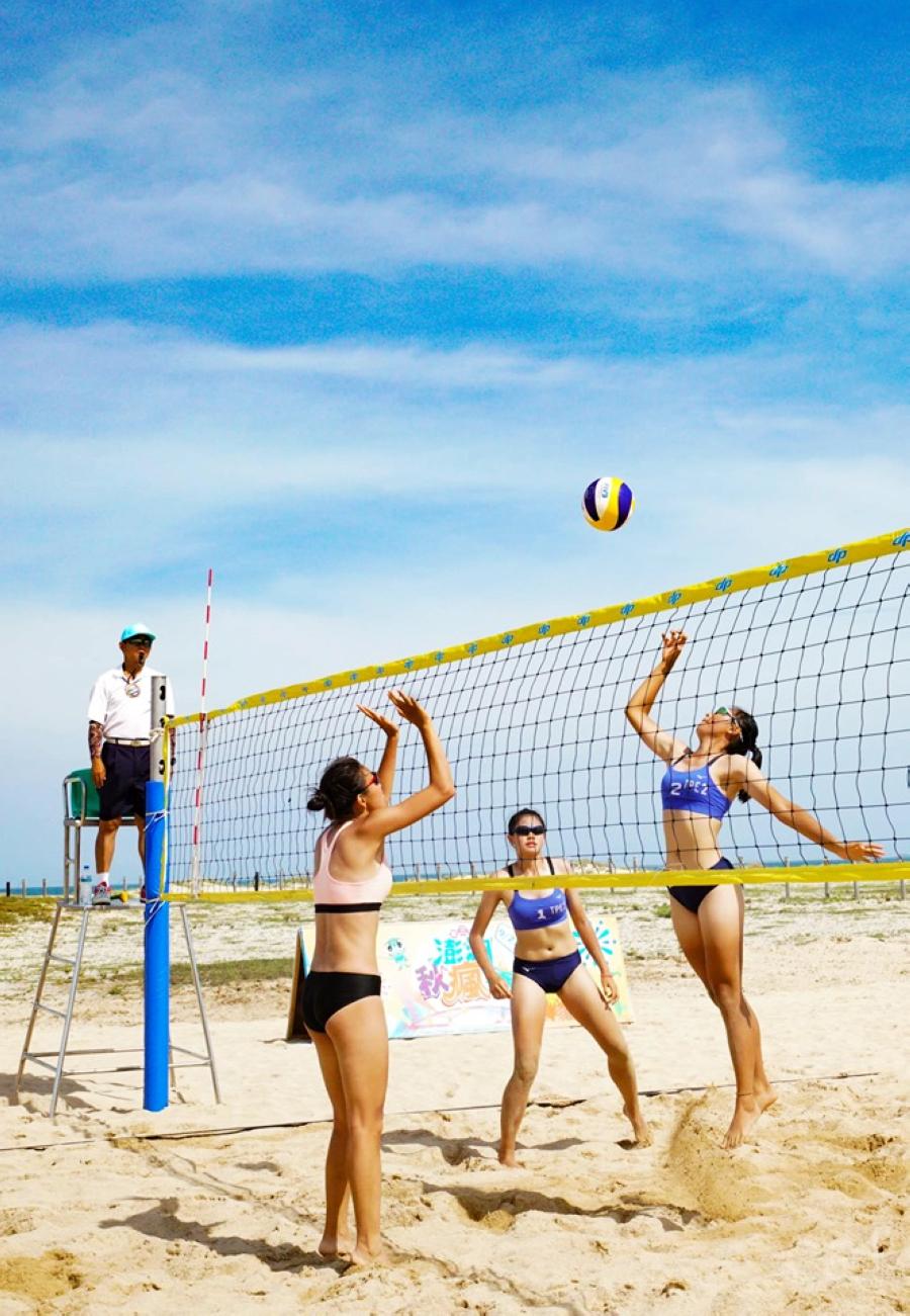 沙灘排球 (圖片來源:菊島歡樂遊-澎湖國家風景區FB)