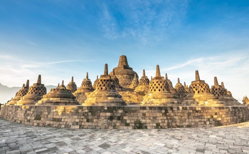圖/婆羅浮屠是印尼名聞遐邇的世界遺產