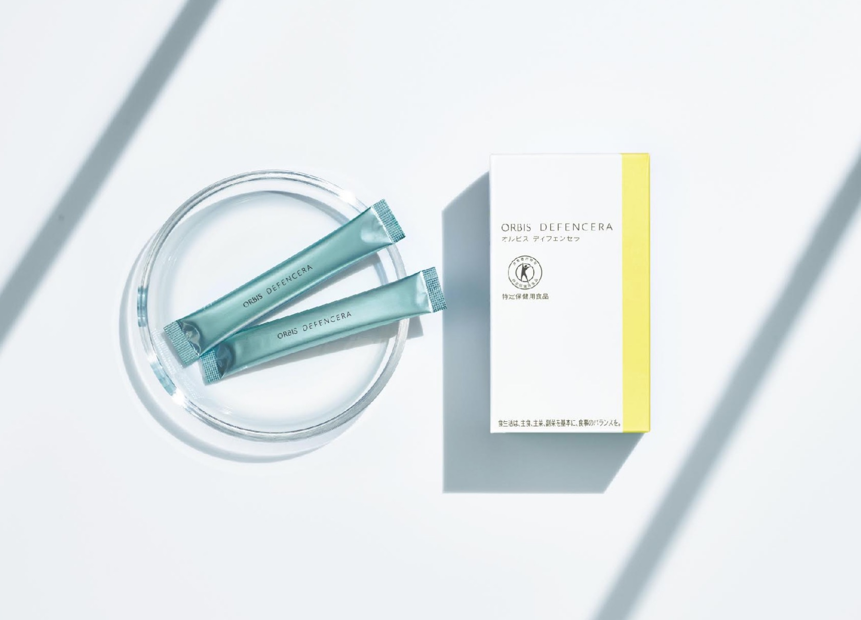 ORBIS推出日本首款肌膚保健用「特定保健用食品」─米潤美源素