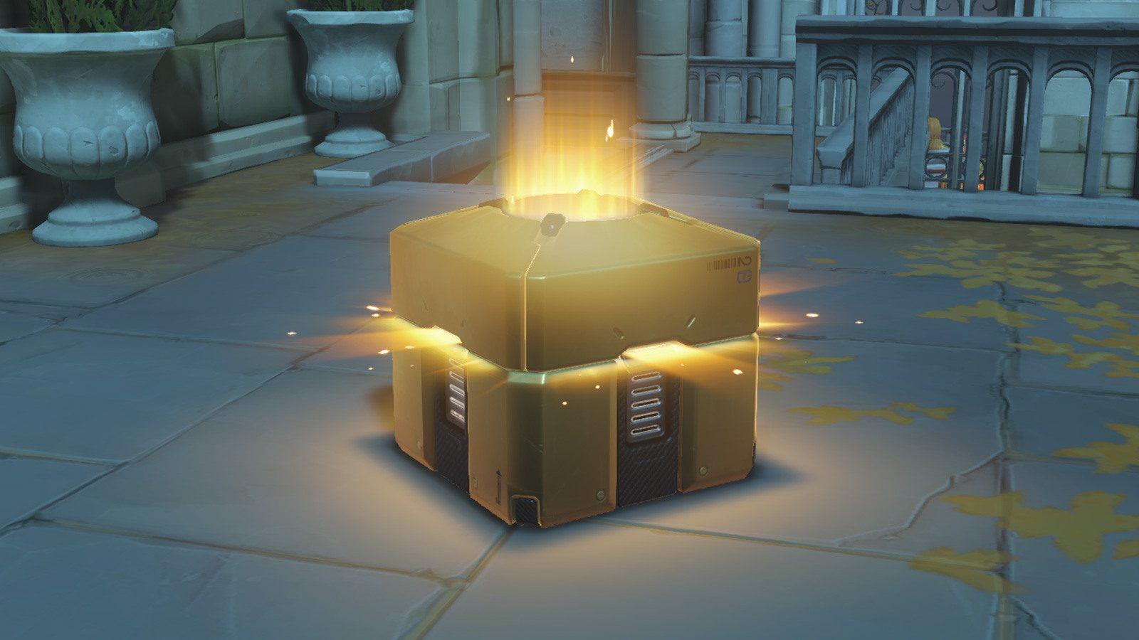《鬥陣特攻》戰利品箱