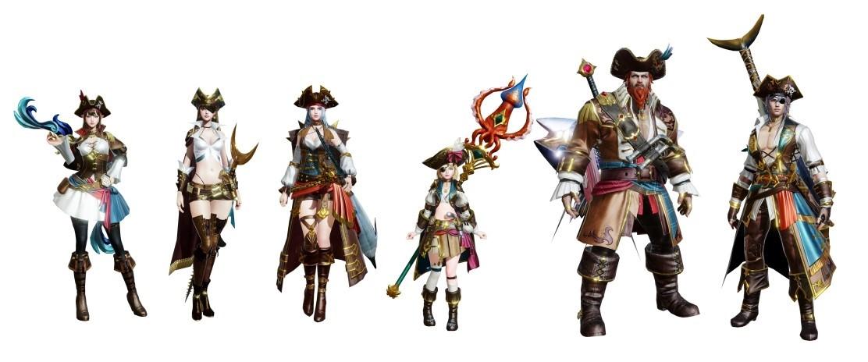 ▲「大海的開拓者」海賊時裝推出!