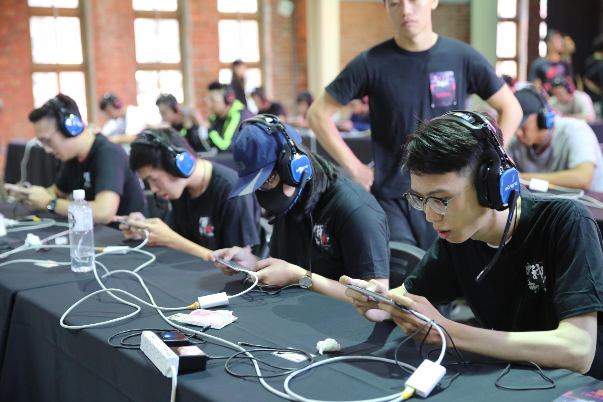 ▲台灣選拔賽在華山文創園區舉辦。現場比賽畫面
