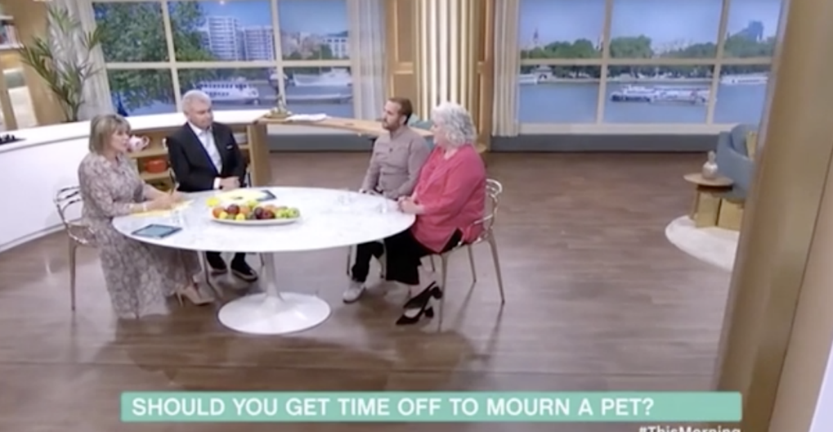 Anna took part in the debate with another guest, Eamonn Holmes and Ruth Langsford (ITV)