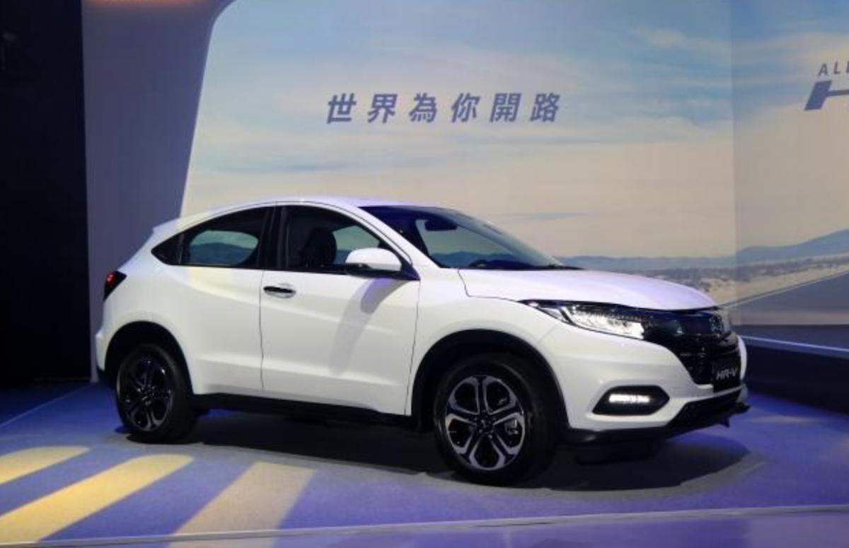 台灣本田車款乃以 CVT 變速箱為主,未受到日規 7 速變速箱瑕疵影響。(圖為台灣 5 月上市的小改款 HR-V。)