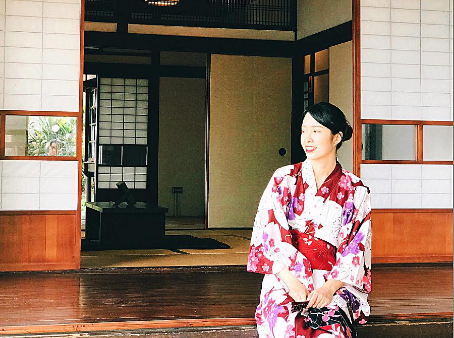 傳統日式房舍建築風格,室內營造日式居家風情,通風及採光極佳 (圖片來源:新北市立淡水古蹟博物館)