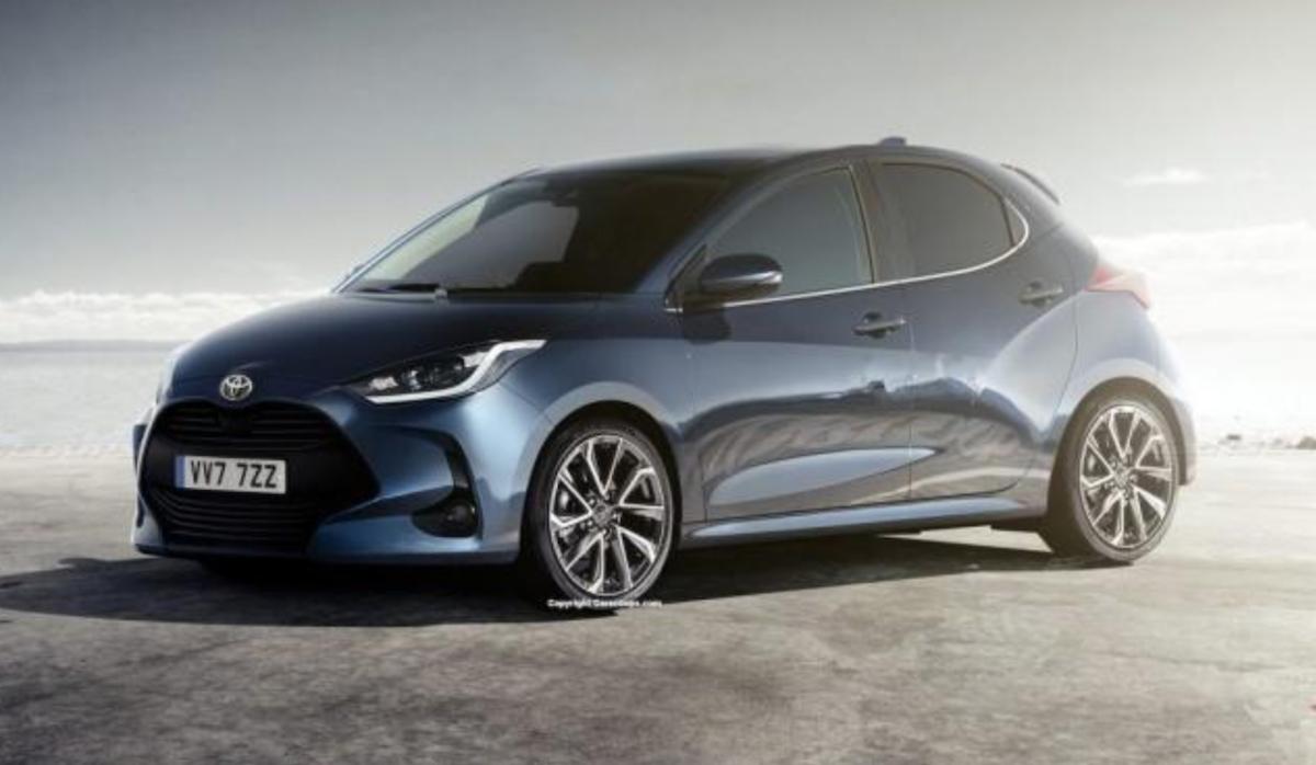 外媒公布新一代 Toyota Yaris 的預想圖。