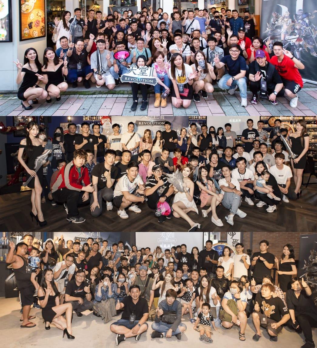 ▲「血盟派對」在台北、台中、高雄登場,活動圓滿結束。