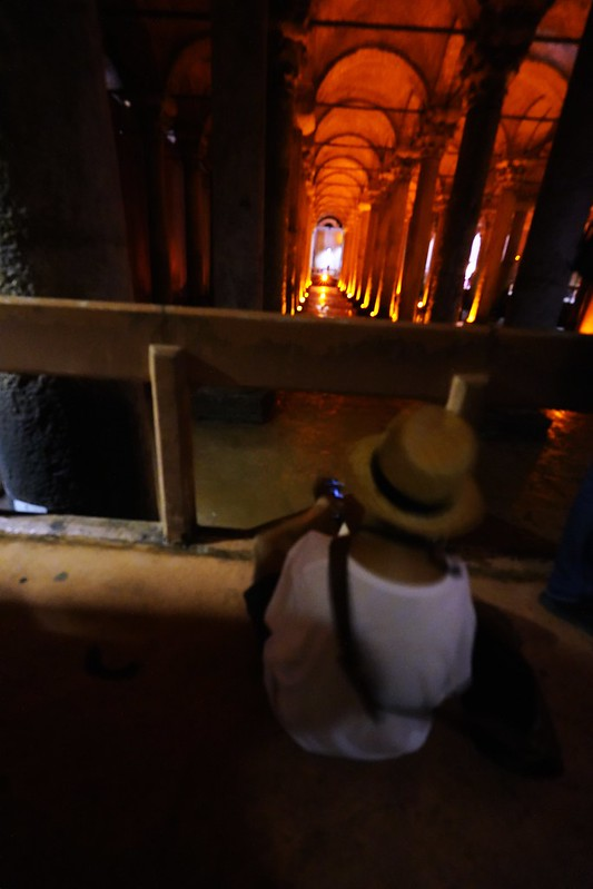 地下水宮殿Yerebatan Sarayı
