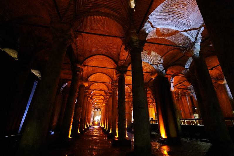 地下水宮殿 Yerebatan Sarayı