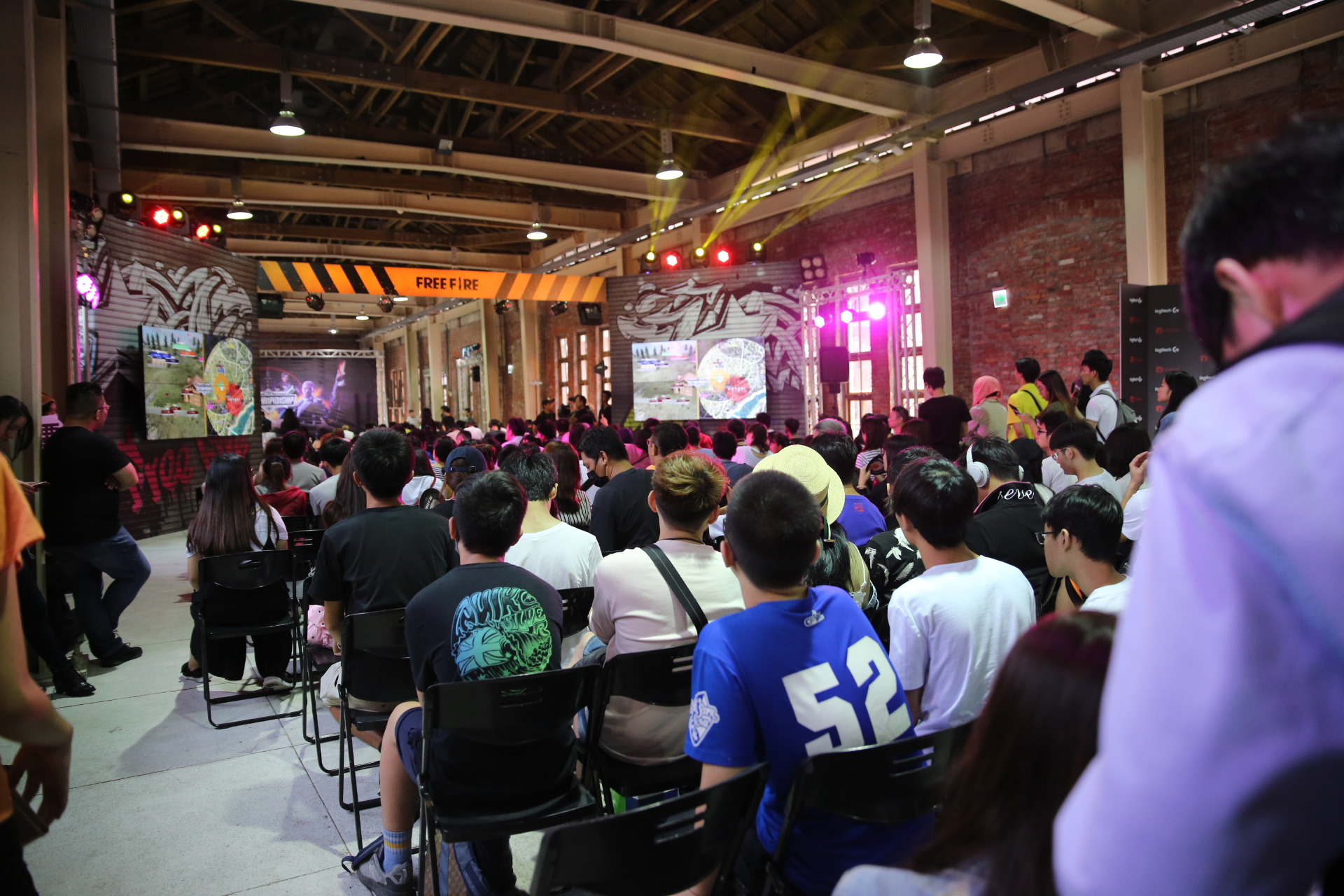 ▲颱風來襲賽期順延仍不減玩家到場支持的熱情