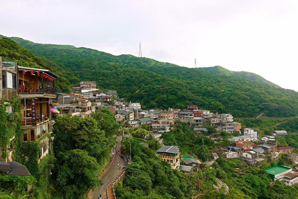 九份位於新北市瑞芳區,是一座擁有多變風貌的美麗山城。圖/台北旅遊網