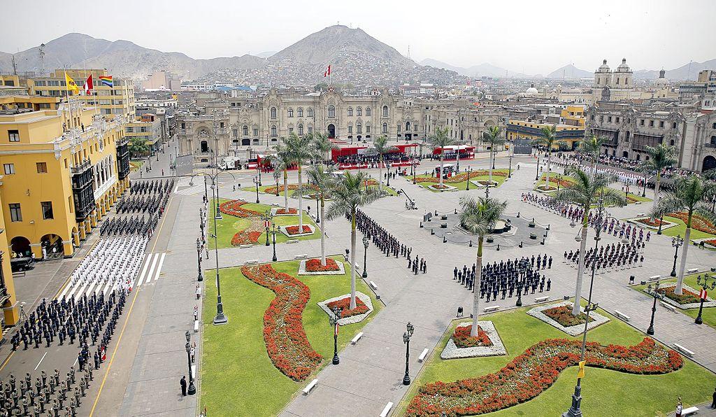 利馬歷史中心 (Photo by Galeria del Ministerio de Defensa del Perú, License: CC BY 2.0, 圖片來源www.flickr.com/photos/ministeriodedefensaperu/15760323114)