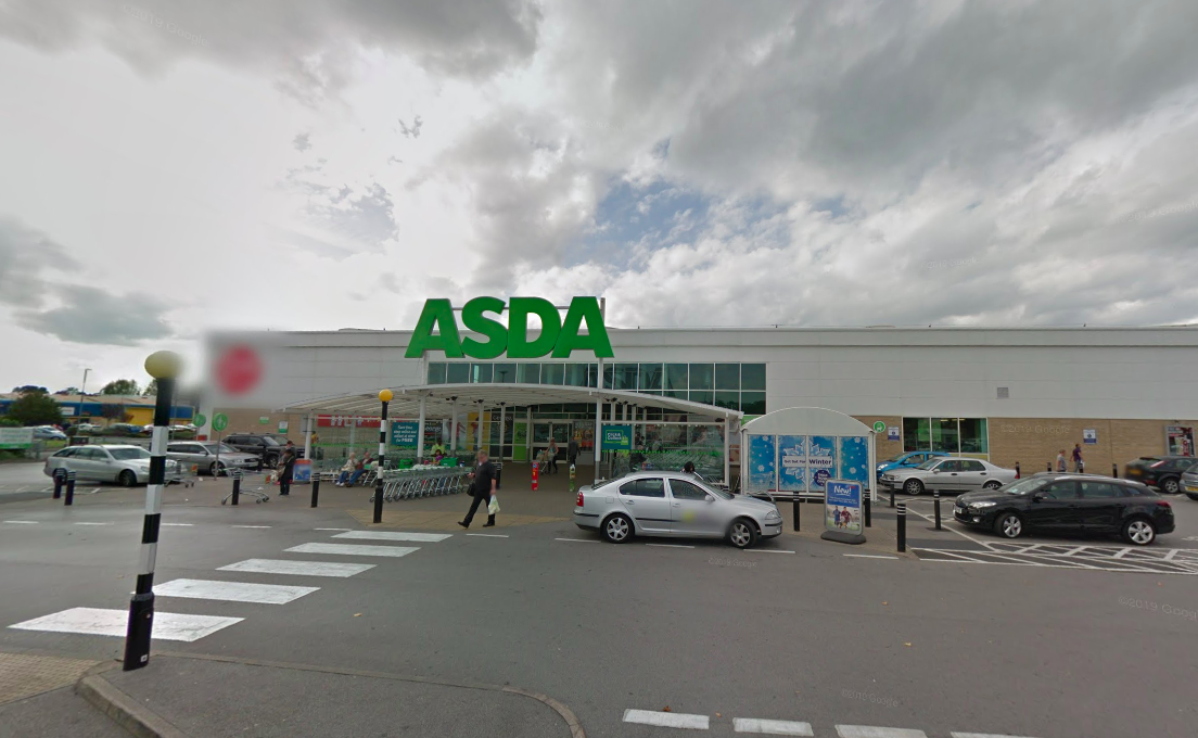 The stabbing took place outside an Asda store in Dewsbury, Yorkshire (Google)