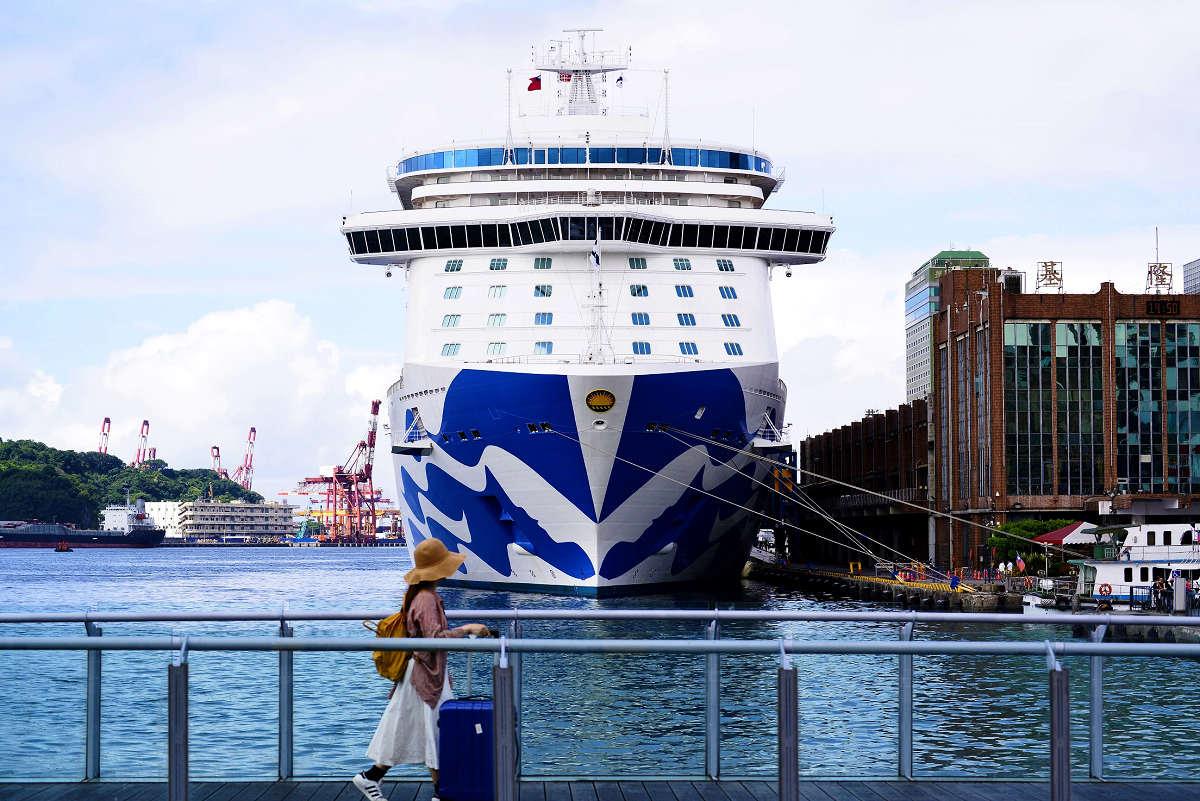 越來越多旅客選擇郵輪之旅 (圖片來源:基隆市政府)