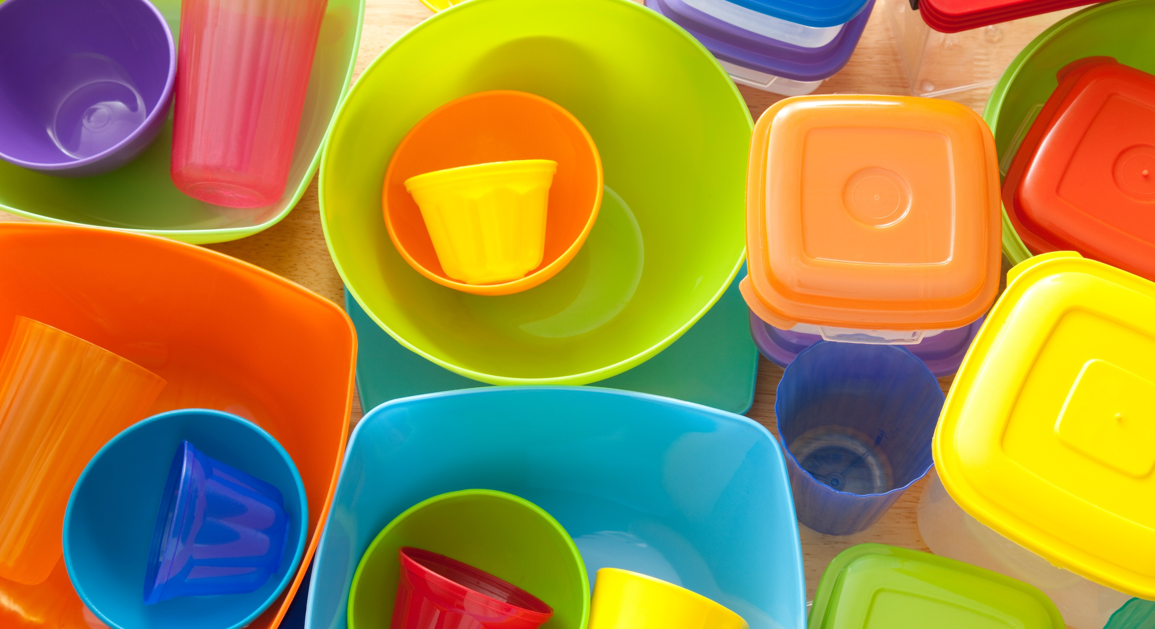 A mum has warned that old Tupperware may contain lead and arsenic [Image: Getty]