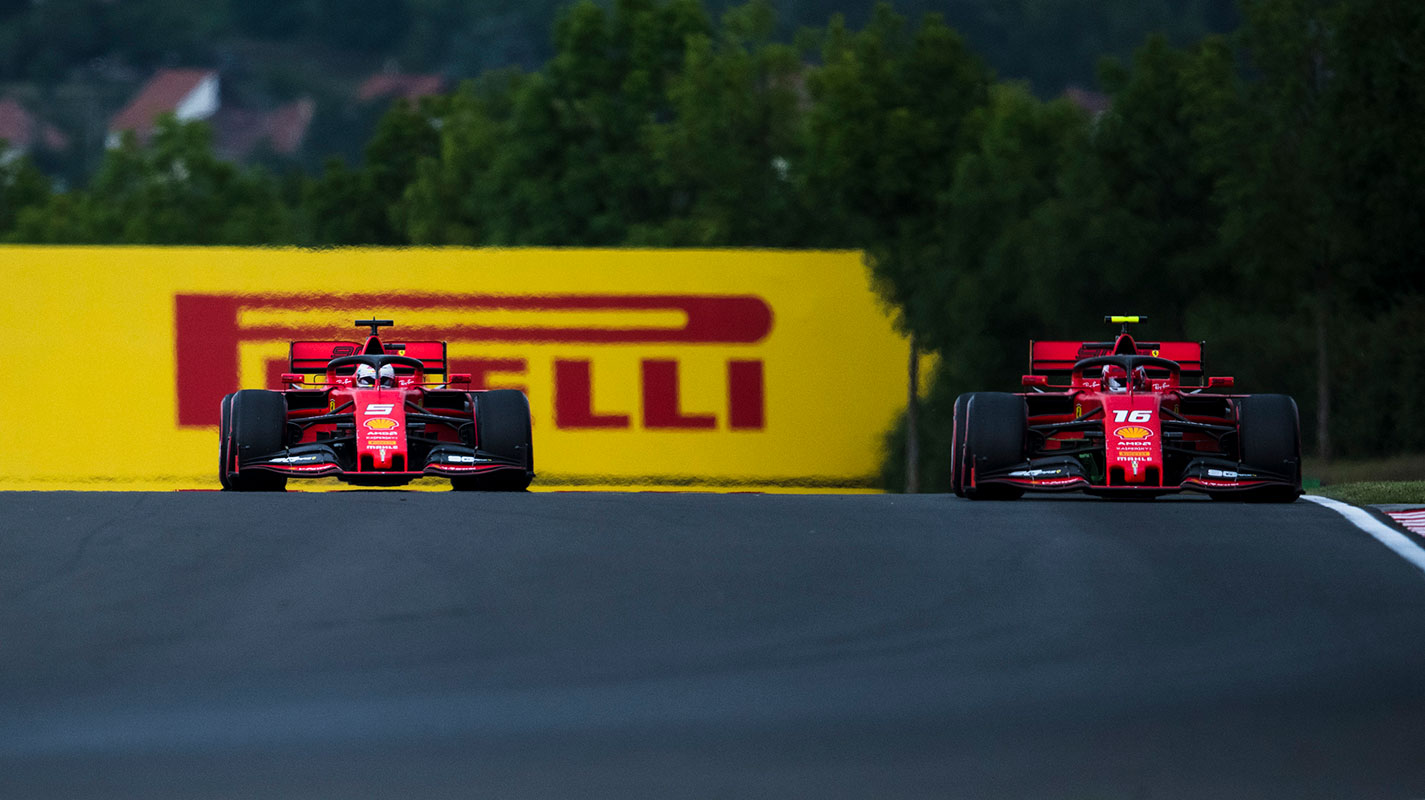 Leclerc承認Vettel在長距離方面幹得更好