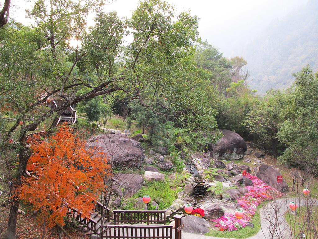 谷關得天獨厚的溫泉遠近馳名,地處台中市和平區。圖/觀光局