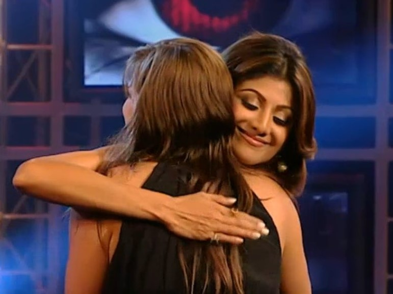 Channel 4's Jade Goody documentary revealed Shilpa Shetty's final words to the reality star before she received her cervical cancer diagnosis (Channel 4/EndemolShine India)