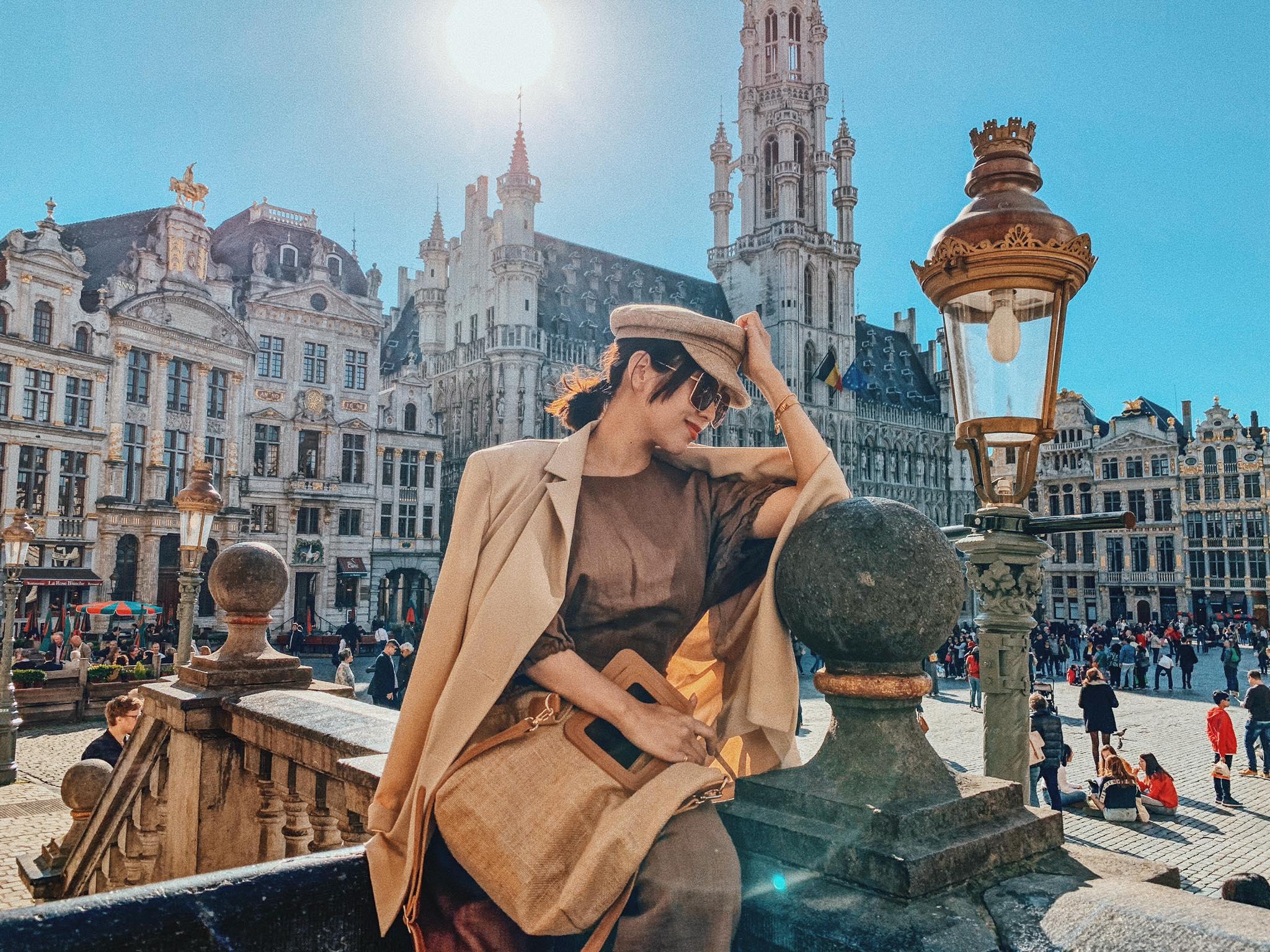 ▲ 唐葳與先生規劃的歐洲行程,特地把觀光客必去的景點全走過一遍。