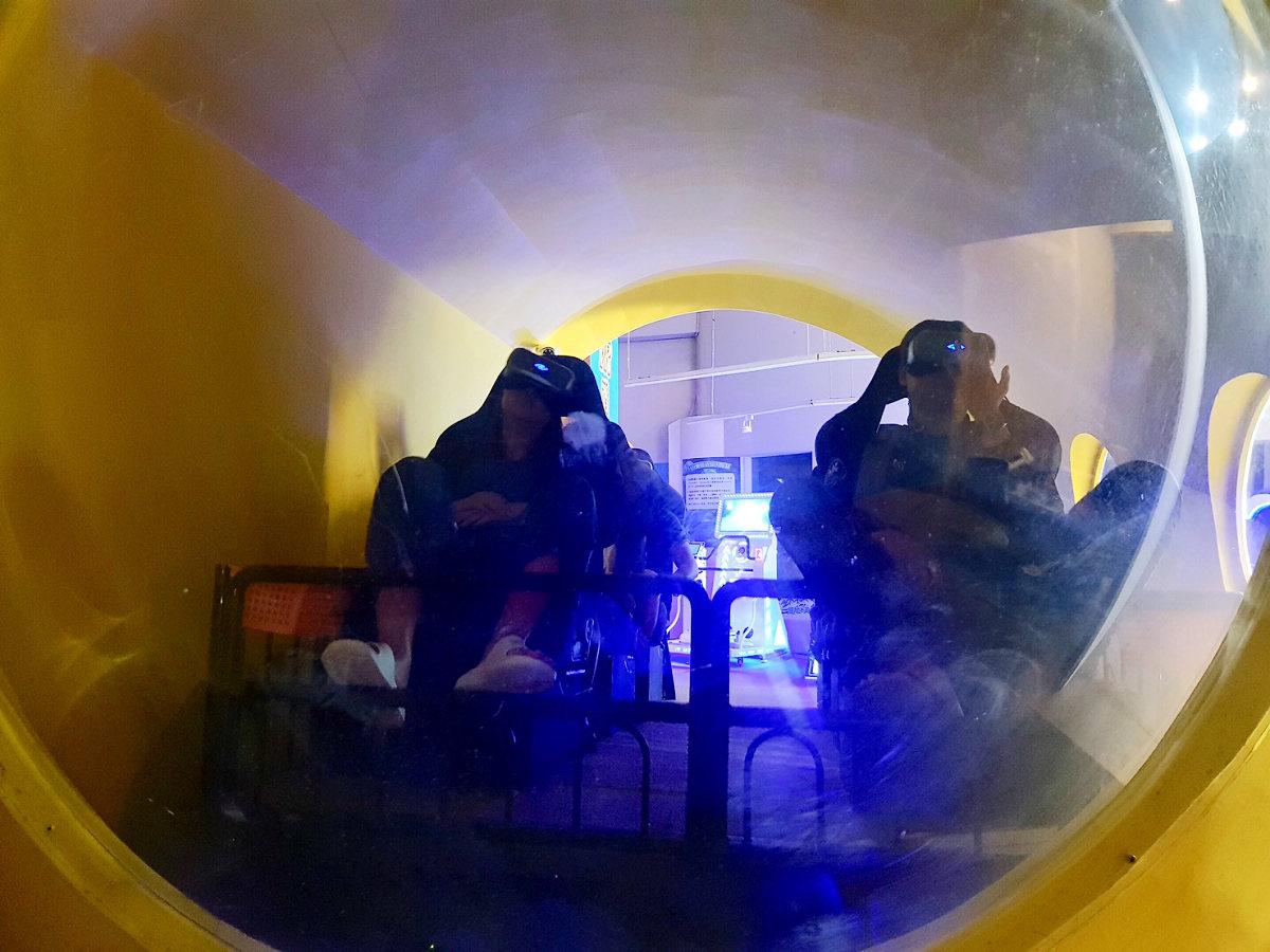 VR潛水艇 (圖片來源:國立海洋生物博物館)