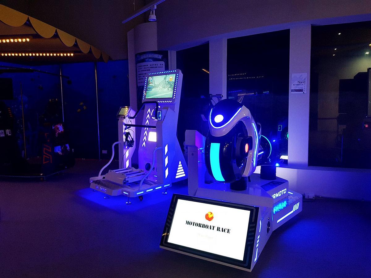 VR運動設施 (圖片來源:國立海洋生物博物館)