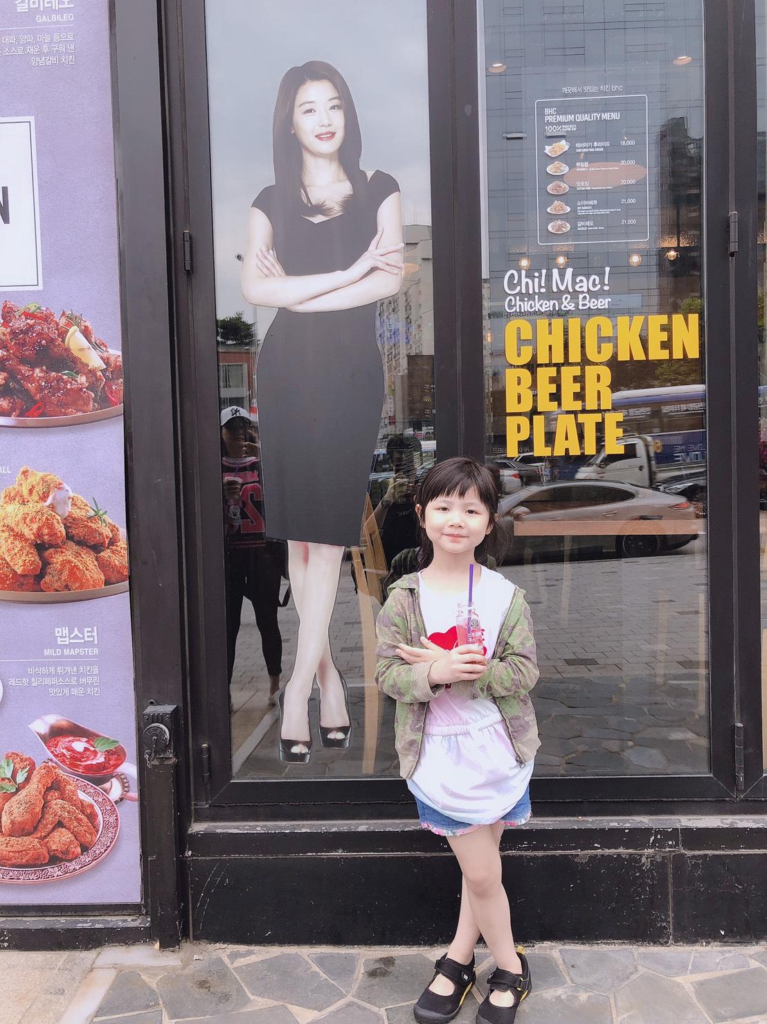 ▲妮妮這趟韓國旅程適應力很好,變得很勇敢發問。