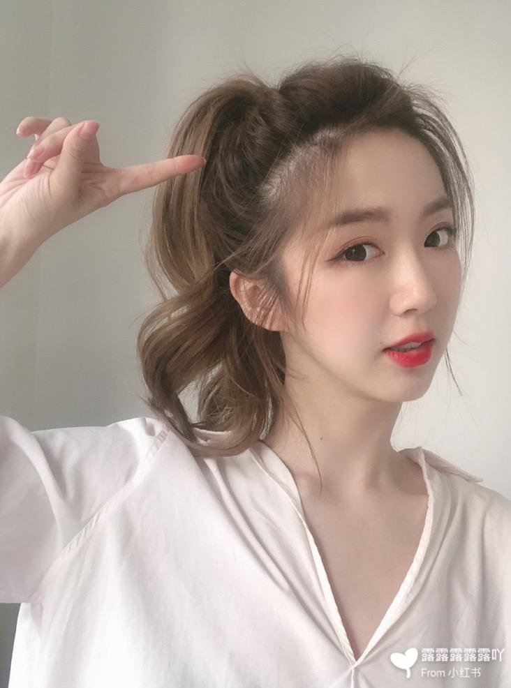 長髮女子的9種髮型變化